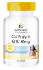 Co-Enzym Q10 30mg Ubichinon, vegan