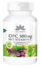 OPC 500mg mit Vitamin C, 120 Tabletten, vegan, nur 18,95 €