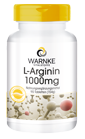L-Arginin 1000mg 90 Tabletten, vegi von Warnke