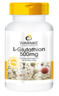 L-Glutathion 500mg, reduzierte (aktive) Form, 100 vegane Tabletten